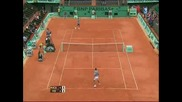 Roland Garros 2009 : Федерер - Акасусо