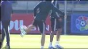 Cristiano Ronaldo & Mesut Ozil Amazing Ball Control