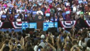 USA: 'You have a chance to shape history' - Obama at Clinton Rally in Orlando