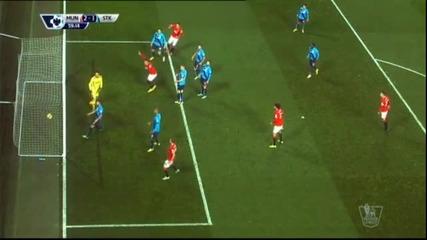 Манчестър Юнайтед – Стоук Сити 2:1