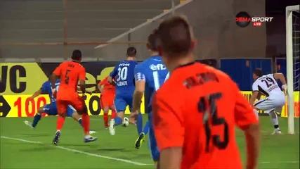Голът на Перес за 1:1 за Литекс срещу Левски