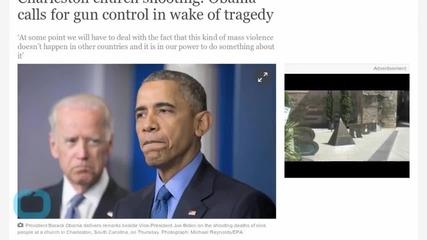 Obama Calls for Gun Control in Wake of Charleston Tragedy