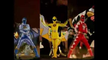 Power Rangers Transformation