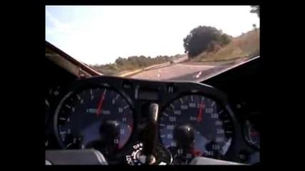 Ненормално ускорение с мотор 0-300 km/h