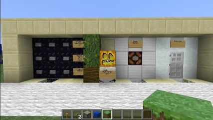 Minecraft 9-digit Combination Lock (order-sensitive) Tutorial Part 1
