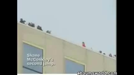 Ски Скокове От Покриви На Сгради