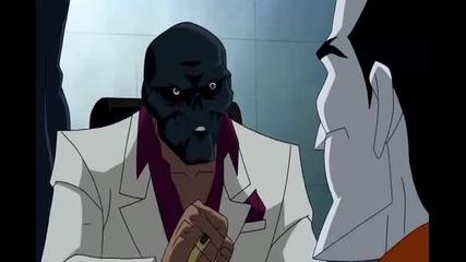 Under the Red Hood - Joker/black Mask scene
