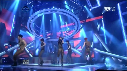 Beast - Fiction [live at M!net Countdown][comeback stage][високо качество]
