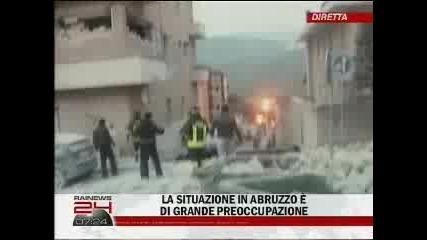 Ужас!!!земетресение в Италия 100 жертви и над 1500 ранени