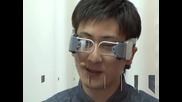 Очила, превеждащи текстове, са хит на изложението за електроника в Токио