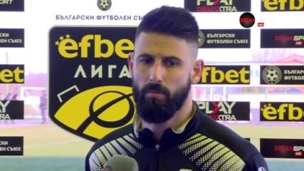 Димитър Илиев: Заслужено равенство