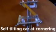 Патентовани самонаклоняващи се четириколесни и триколесни превозни средства