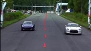 Porsche 911 Dt1200 vs Nissan Gtr Gtt 1000