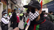 UK: Protesters gather outside Elbit Systems weapons company to denounce arms sales to Israel