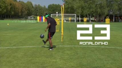 Fifa 10 - Ronaldihno, Wallcot, Xavi...