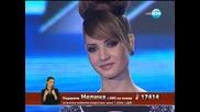 X Factor Нелина Георгиева Live концерт - 05.12.2013 г