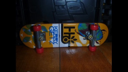 My Tech Deck colection
