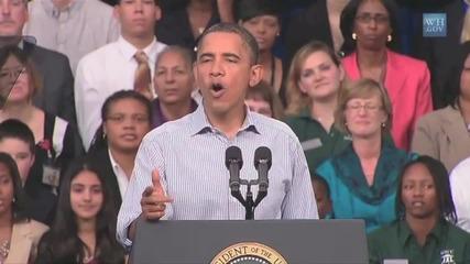 Барак Обама пее Sexy and I Know It на Lmfao