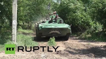 Ukraine: Tanks and APCs removed from front-line by DPR