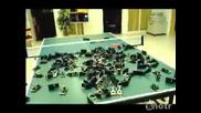 Щракване на 240 капана за мишки едновременно