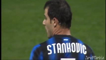 Феноменалния гол на Станкович срещу Шалке 04 !