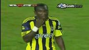 Fenerbahce 4 - 2 Manisaspor Highlight and Goal Niang 29.08.2010