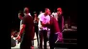 Chris Brown dancing to Biilie Jean.lil Wayne Amw Tour Virgina Beach