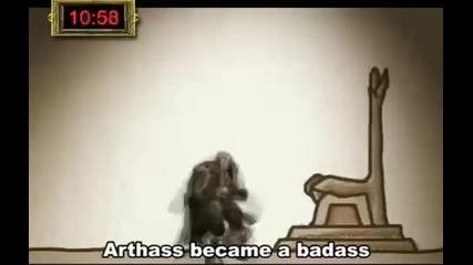 Историята на Arthas в 30 Секунди