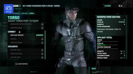 Tom Clancy Rip - Splinter Cell: Black List