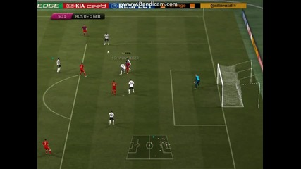 Euro 2012 (fifa 12) Russia vs Germany Test Video