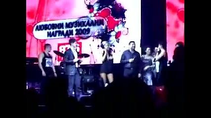 Преслава - Умирам + дует с Тони Стораро на живо в Night Flight на наградите на радио Романтика