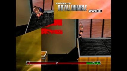 Royal Rumble 2011 Randy Orton Extreme --scoop Slam--