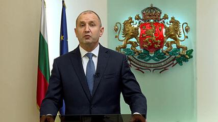 Президентът Радев: Мислете, преценете, гласувайте, в неделя всичко зависи от нас