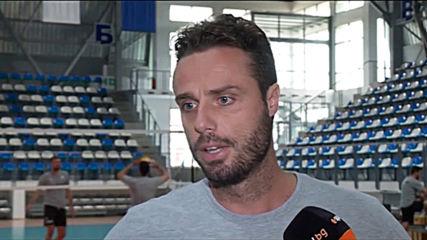 Салпаров: Оптимист съм за мача с Бразилия