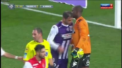 Два гола на Бербатов! Тулуза - Монако 0:2