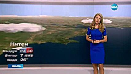 Прогноза за времето (17.07.2016 - обедна)