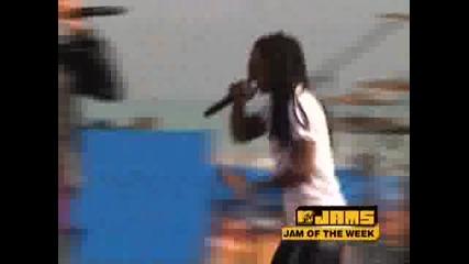 Lil Wayne - Every Girl (feat Drake & Young Money) (mtvu Spring Brake) (live)(2009) ( Hight Quality)