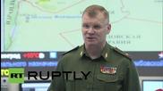 Russia: 118 'terrorist' targets hit in last 24 hours, confirms DefMin spokesperson