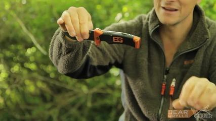 Gerber Bear Grylls Folding Sheath Knife [ H D 1080p ]