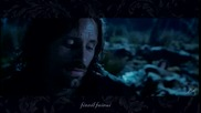 Lord of the Rings - Aragorn sings in the Marshes with lyric