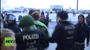 Germany: Riot police battle with counter-demo trying to confront AfD supporters
