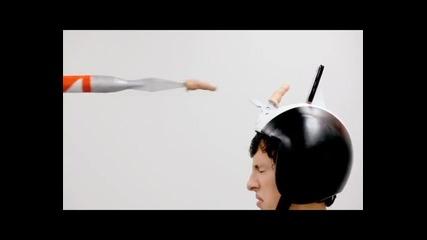 Нинджа, рицар и гюлетласкач - handy реклама