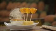 Кокосов сладолед и карамелизиран ананас | Мексиканска фиеста с Питър Курувита | 24Kitchen Bulgaria