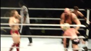 Ending of the Show & Big Show Spinaroonie - Wwe Live Abu Dhabi
