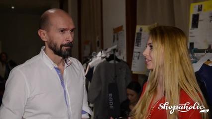Интервю с Веселин Йорданов на дипломното ревю на специалност Мода и бизнес стратегии към Нбу