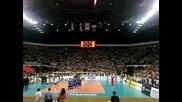 12 500 пеят националния химн в зала Арена Армеец