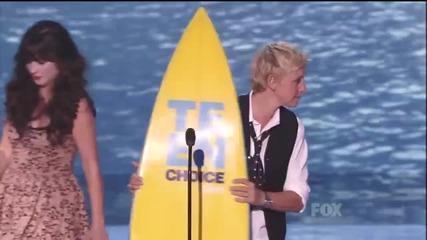 [hd] Teen Choice Awards 2011 (part 2)