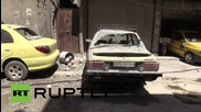 Сирия: Петима мъртви следд като ракета падна в Дамаск