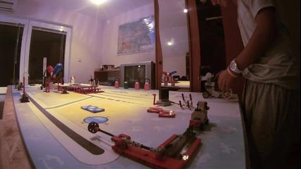 Джей Джей Крю - Отбор по роботика