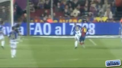 Lionel Messi всички 24 гола с десния крак